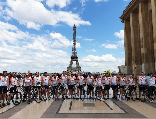 Pedaling to Paris