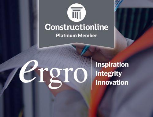 Constructionline Award Ergro With Prestigious Platinum Status